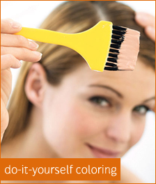 Do it yourself hair coloring tips